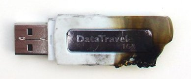 Burned Pendrive