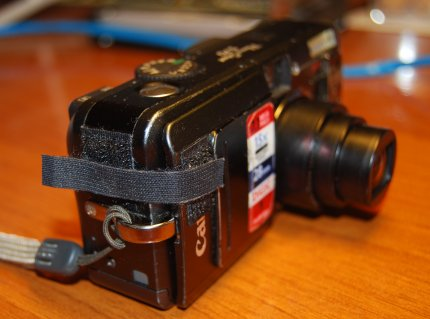 canon s70 velcro hack closed
