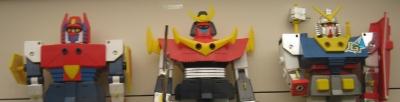 foto de 3 robots